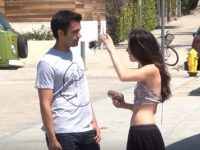 Meme inspired pick up lines on girls. Yes, it works! (video)