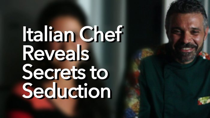 Italian Chef Talks about Italian Way of Dating (Dating Beyond Borders)